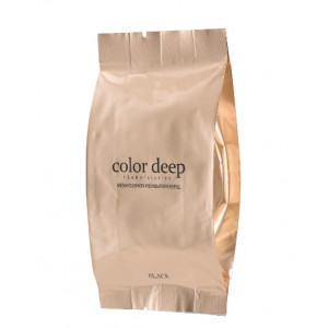 Color Deep Mesh Cushion Foundation (Package Black Refill)