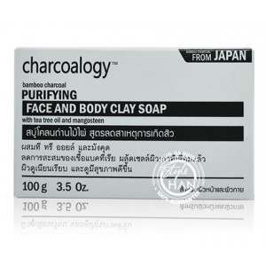 Charcoalogy Purifying Face and Body Clay Soap