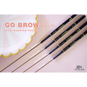 SO GLAM Go Brow Slim Eyebrow Pencil 03 Medium Brown