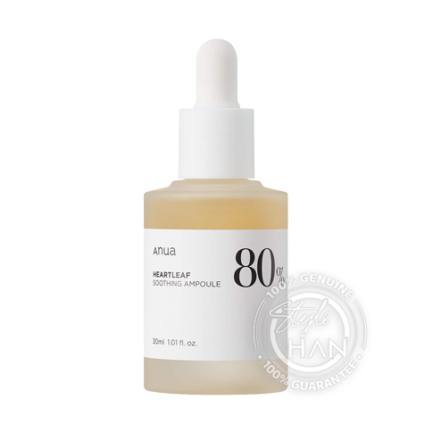 ANUA Heartleaf 80% Soothing Ampoule