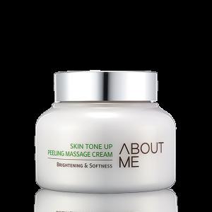 About Me Skin Tone Up Peeling Massage Cream