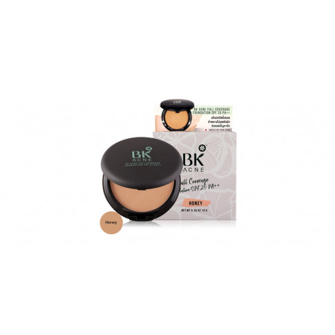 BK Acne Full Coverage Foundation SPF 25 PA++ Honey