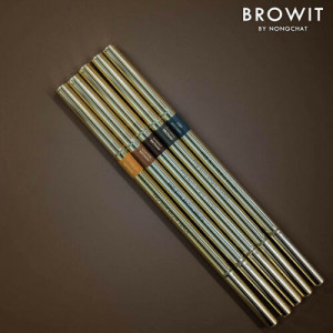 Browit Pro Slim Brow Pencil Free Brow Sticker