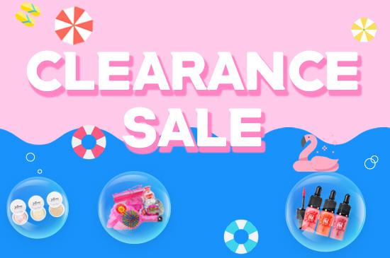 CLEARANCE SALE สินค้าลดล้างสต๊อก!!