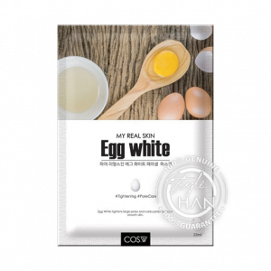 COS.W My Real Skin Egg White Facial Mask