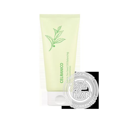 Celranico Green Tea Seed Oil Balancing Foam Cleansing