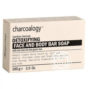 Charcoalogy Brightening Face and Body Bar Soap