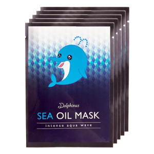 DOLPHINUS Intense Aqua Wave Sea Oil Mask (Box)