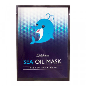 DOLPHINUS Intense Aqua Wave Sea Oil Mask (Sheet)