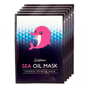 DOLPHINUS Intense Firming Wave Sea Oil Mask (Box)
