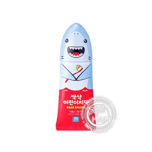 Divinetree Ssak Shark Toothpaste For Kids