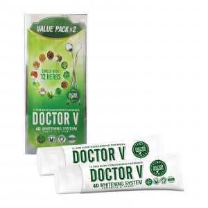 Doctor V Toothpatse Value Pack X2