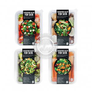 Farm Skin Superfood Salad Facial Sheet Mask Set