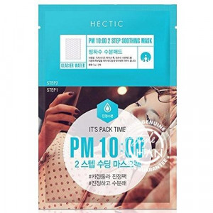 Hectic PM 10:00 2Step Soothing Mask