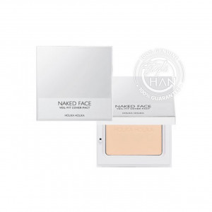 (ลดล้างสต๊อก) Holika Holika Naked Face Veil-Fit Cover Pact