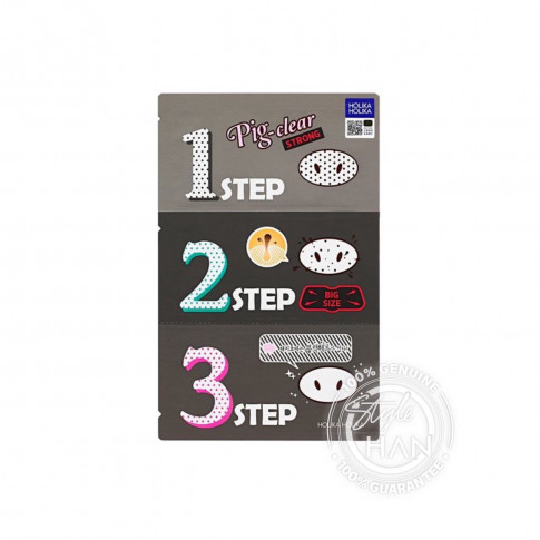 Holika Holika Pig Nose Clear Black Head 3 Stepki