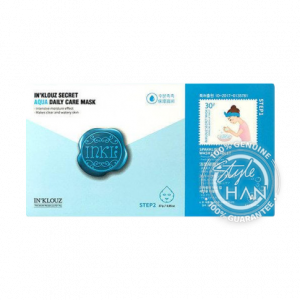 In'Klouz Secret Aqua Daily Care Mask (Sheet)