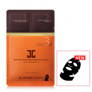 Jayjun New Real Water Brightening Black Mask Sheet