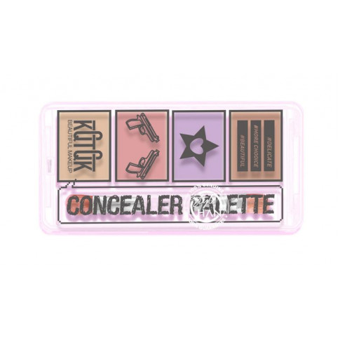 KQTQK Cheese Concealer Palette