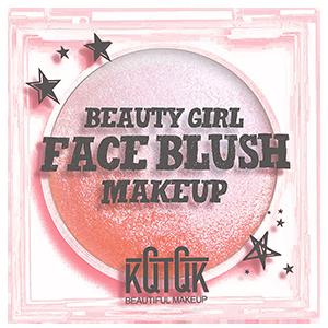KQTQK Beauty Girl Face Blush