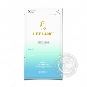 Le Blanc Water Brightening Mask + Soothing Black Point Patch