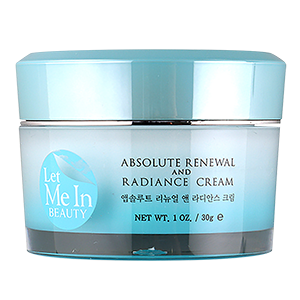 Let Me In Beauty Professional Solution Absolute Renewal And Radiance Cream