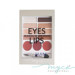 MYCA Eyes & Lips Palette