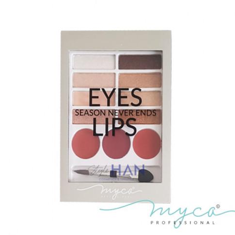 MYCA Eyes & Lips Palette