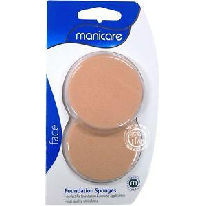 Manicare Foundation Sponge Pk 2