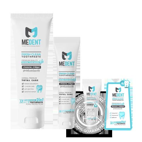 Medent Fresh Clean Toothpaste
