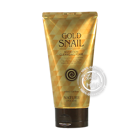 Natureinside Gold Snail Nutrtion Cleansing Foam