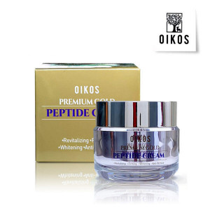 OIKOS Premium Gold Peptide Cream 10g