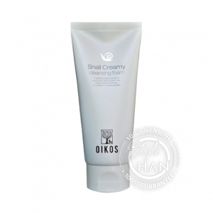 OIKOS Snail Creamy Cleansing Foam