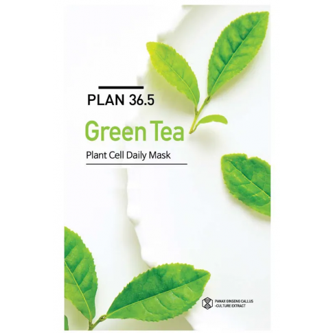 PLAN 36.5 Green Tea Plant Cell Daily Mask