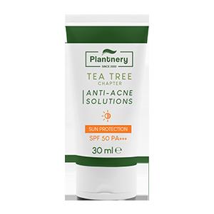 Plantnery Tea Tree Sunscreen Acne Oil Control SPF 50 PA+++ 30 ml