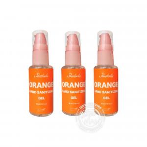 Praileela Orange Hand Sanitizing Gel 30 ml (แพ็ค 3 ขวด)