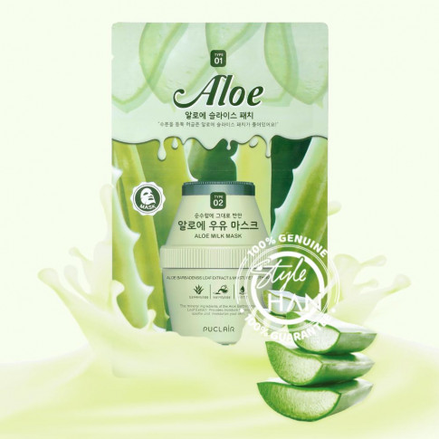 Puclair Aloe Milk Mask Pack