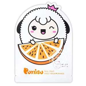 Puttisu Real Fruits Sheet Mask