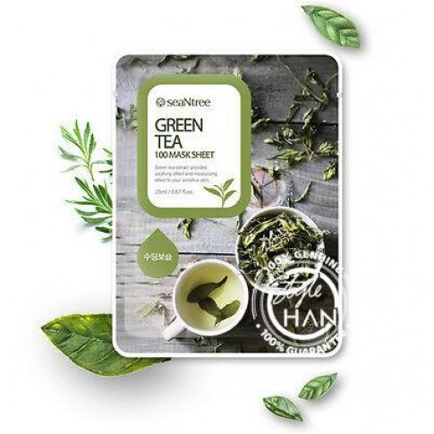 Seantree Green Tea Mask Sheet