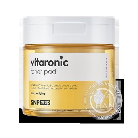 SNP prep vitaronic toner pad