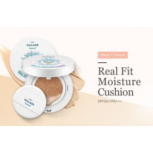 Village 11 Factory Real Fit Moisture Cushion Pact 15g.