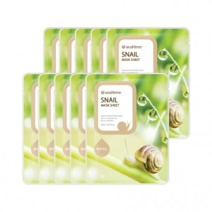 Seantree Snail Mask Sheet (Box)