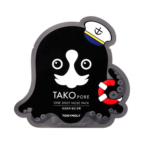 Tonymoly Takopore One Shot Nose Pack