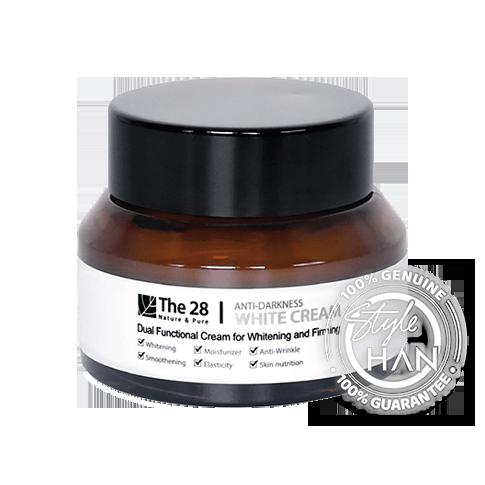 The 28 Anti-Darkness  White Cream