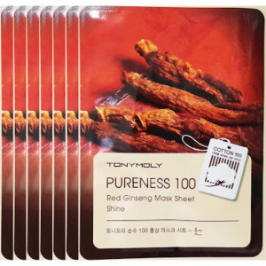 Tonymoly Pureness 100 Red Ginseng Mask Sheet