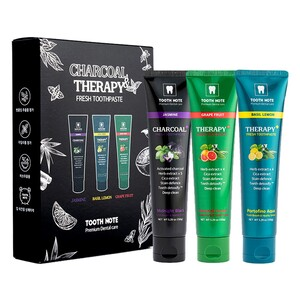 Tooth Note Charcoal Moisturizing Toothpaste