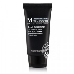 Tosowoong Men's Booster Sun Cream SPF 50+,PA+++