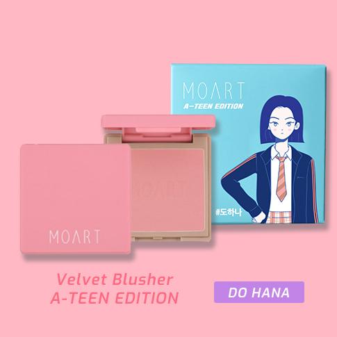 Moart Velvet Blusher F1 Full Of Coral (A-TEEN EDITION_Do Ha Na)