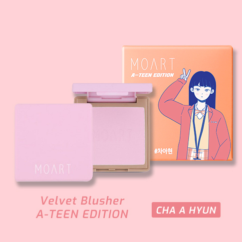 Velvet Blusher F2 Full Of Lavender (A-TEEN EDITION_Cha A Hyun)