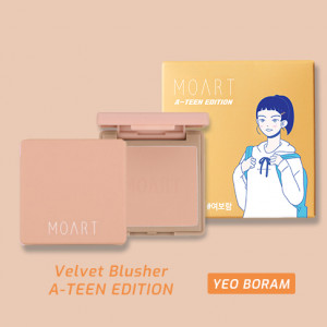 Moart Velvet Blusher F3 Full Of Ginger (A-TEEN EDITION_Yeo Bo Ram)